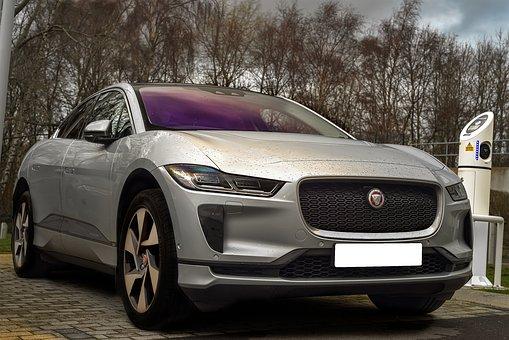 Jaguar I Pace, Electric Car, Charging, Suv, Woods, Car