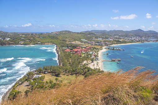 Atlantic Ocean, Caribbean Sea, St, Lucia, Saint Lucia