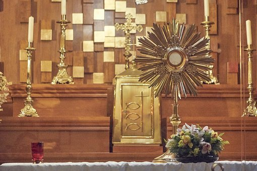 Blessed Sacrament, Eucharist, Exhibition, Worship