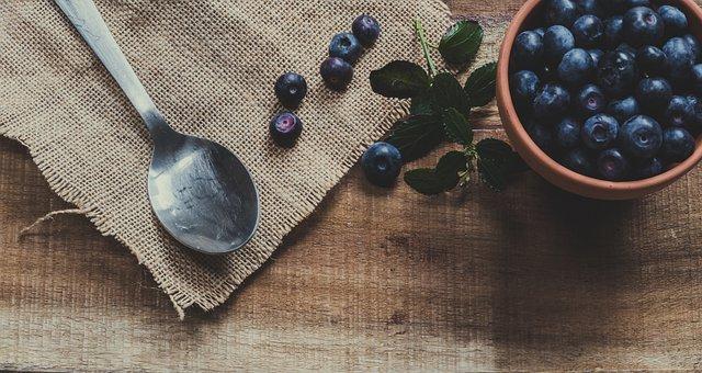 Blue Berries, Berries, Fruits, Blueberries, Food
