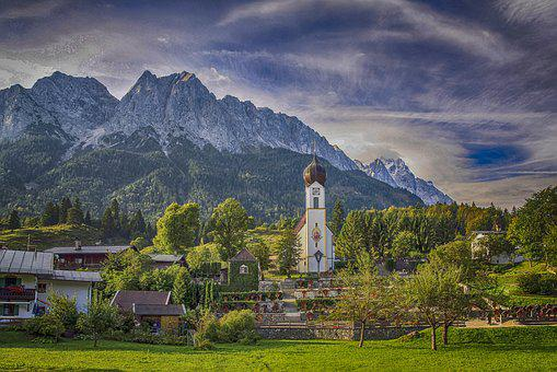 Germany, Bavaria, Places Of Interest, Building