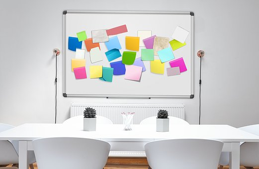 Stickies, Post-it, List, Kanban, Business, Start Up