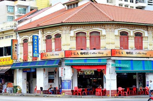 Singapore, Cafe, Coffee, Restaurant, City, Tea