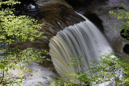 Cliff Falls, Maple Ridge Bc, Waterfall, Kanaka Creek
