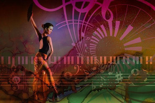 Dance, Music, Ballet, Dancers, Dancer, Treble Clef