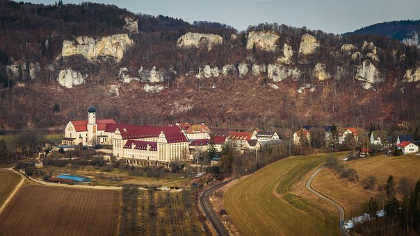 The Monastery Of Beuron, Danube Valley, Building