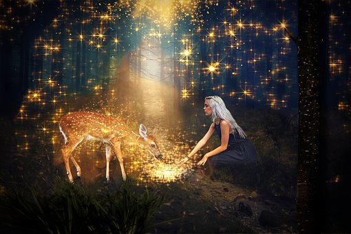 Bro, Sister, Fairy Tales, Fantasy, Girl, Boy, Forest