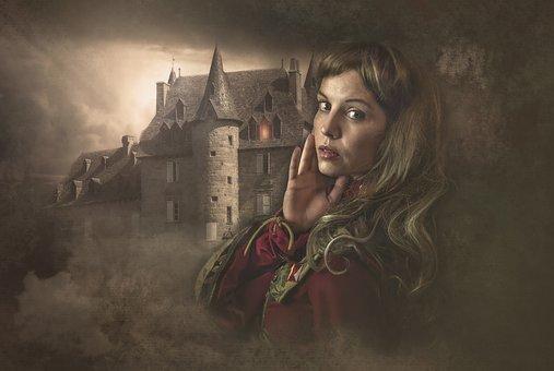 Fantasy, Gothic, Dark, Female, Woman, Girl, Young
