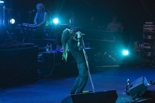 Music, Singer, Microphone, Song, Metal, Concert