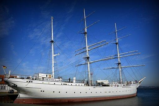 Ship, Sailing Vessel, Sail Training Ship, Gorch Fock
