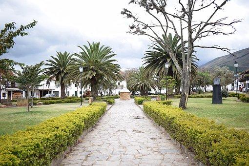 Plaza Of Villa De Leyva, Villa De Leyva, Colombia