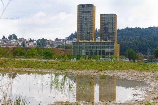 Switzerland, Lucerne, Landscape, Allmend