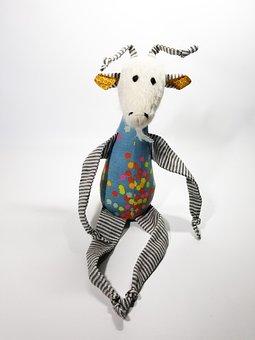 Goat, Handmade, Alpaca Face, Children's Toys