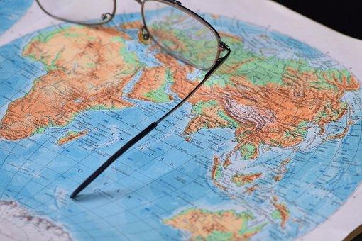 World, Earth, Globe, Asia, Australia, South America