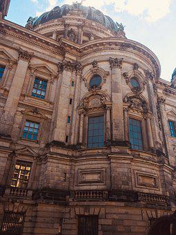 Berlin, Cathedral, Architecture, Building, Church
