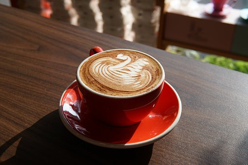 Latte, Cappuccino, Coffee, Cup, Drink, Beverage