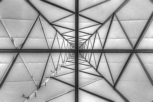 Current, Geometry, Structure, Steel, Mast, Construction