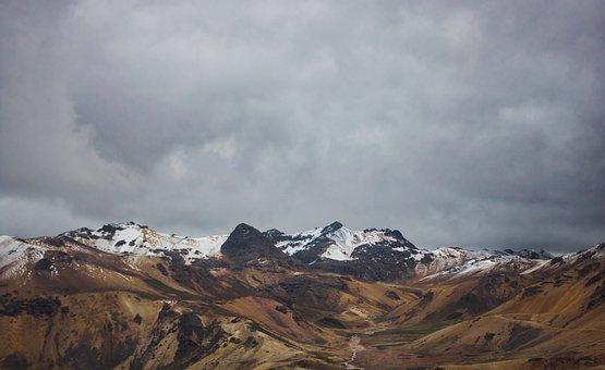 Mountain, Ayacucho, Peru, Tourism, Dawn, Dark, To Watch