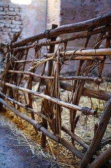 Craft, Tradition, Fence, Wood, Morocco, Kasbah, Tourism