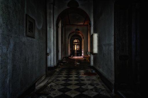 Gang, Floor, Gloomy, Dark, Lost Places, Pforphoto, Old