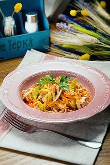 Salad, Food, Pasta