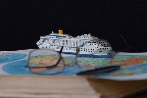 Cruising, World, Earth, Globe, Asia, Australia