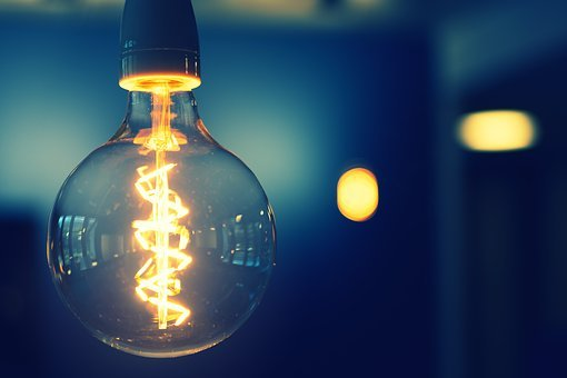 Pear, Light, Energy, Light Bulb, Current, Lighting