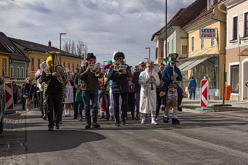 Carnival, Masks, Masquerade, Mask, Costume, Road, City