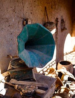 Craft, Tradition, Gramophone, Wood, Morocco, Kasbah