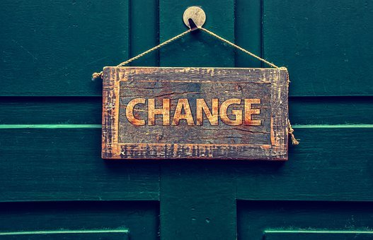 Change, Board, Door, New Beginning, Risk, Shield