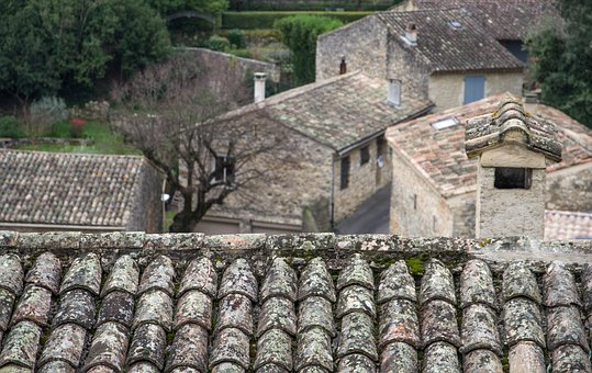 Roofing, Tiles, Roof, Provence, Building
