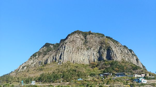 Sky, Mountain, Nature, Landscape, Scenery, Climbing