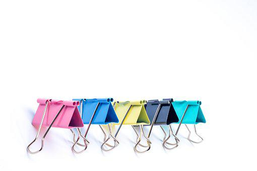 Stationery, Clip, Cooperation, Line, Team Building