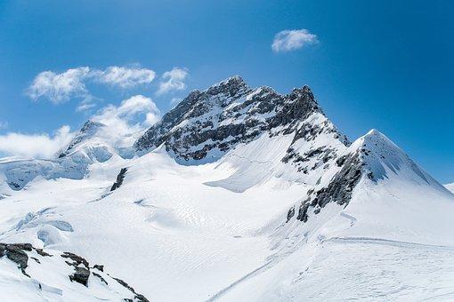 Jungfrau, Swiss, Icecap, The High Mountains, Peace