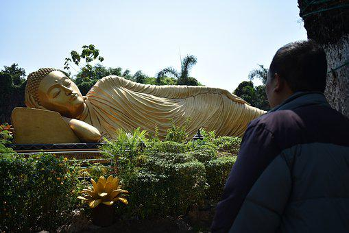 Java, Religion, Temple, Statue, Mojokerto, Patung