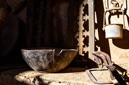 Craft, Tradition, Bowl, Wood, Morocco, Kasbah, Tourism