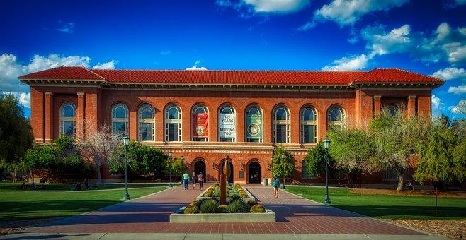 University Of Arizona, Tucson, America, Panorama