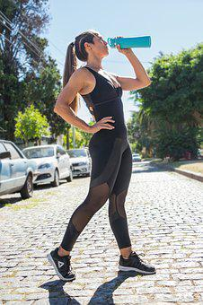 Fitness, Women, Training, Exercise, Healthy, Body