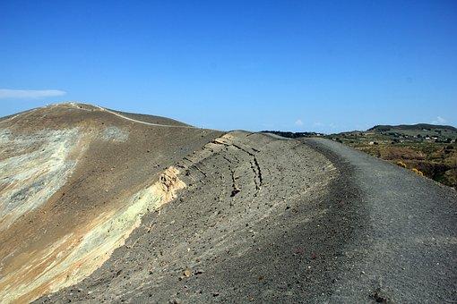 Vulcano, Aeolian Islands, Crater Rim