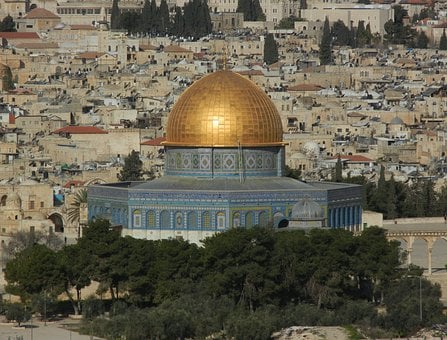 Al Aqsa Mosque, Temple Mount, Rock, Temple, Jerusalem