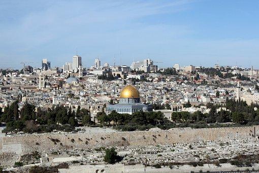 Al-aqsa Mosque, Dome Of The Rock, Holy Land, Jerusalem