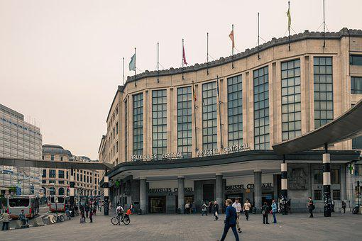 Brussels, Brussel Centraal, Brussels Station