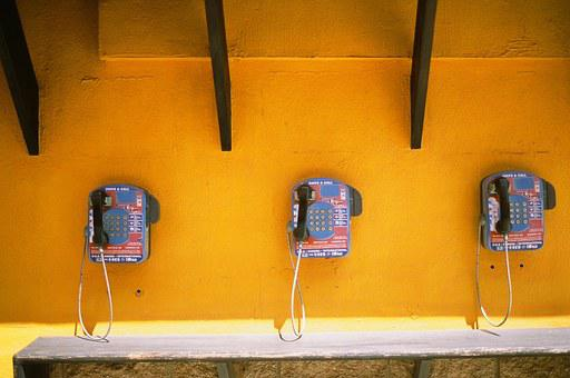 Telephones, Call Center, Public, Phone Booth, Phone