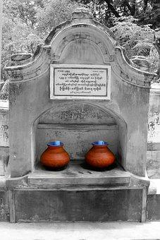 Burma, Pots, Craft, Vessels, Amphora, Clay Pots