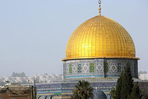 Israel, Jerusalem, Dome, Rock, Mosque, Holy Place