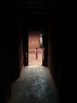 Doorway, Door, Entrance, Person, Traditional, Local