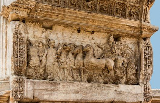 Forum Romanum, Arch Titus, Relief, Jerusalem, Ancient