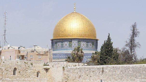 Domo Da Rocha, Israel, Jerusalem, Holy City, Landmark