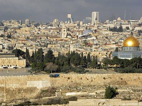 Jerusalem, Israel, Ancient, Old, City, Religion, Holy