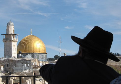 Dome Of The Rock, Jerusalem, Israel, Jew, Holy City